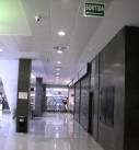 Centro comercial – Orcal microperforado – 2